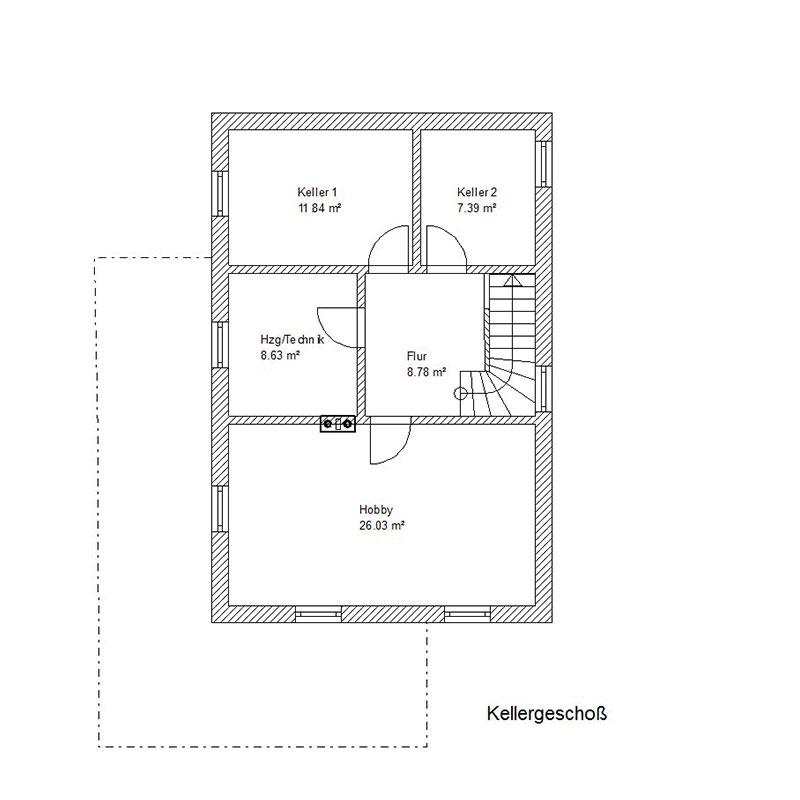 Keller Charmantes Einfamilienhaus in Kirchdorf/Inn