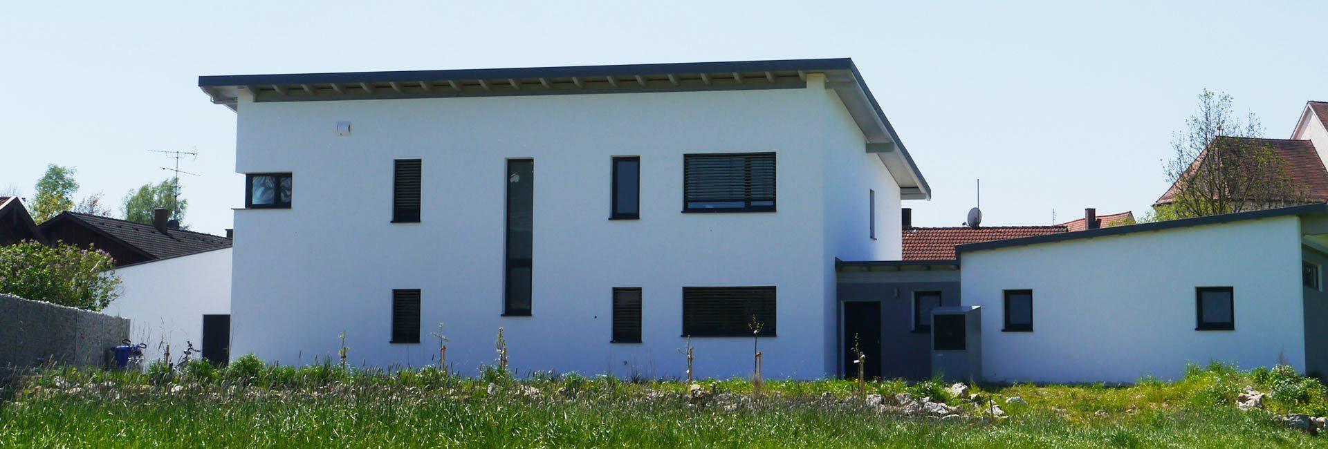 Einfamilienhaus der Duldinger Bau GmbH in Triftern
