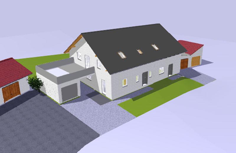 Moderne Wohnung mit Garage im Markt Triftern